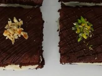 Çikolatalı Porsiyonlu Pasta