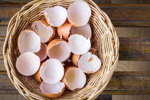 Beyaz Çamaşırlar İçin Yumurta Kabuğu