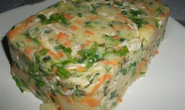 tavuklu patates salatası