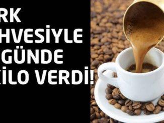 Türk Kahvesi Diyeti İle 10 Günde 5 Kilo Verin