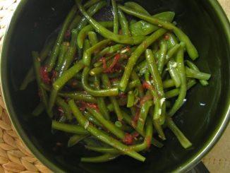 Yeşil Börülce Salatası
