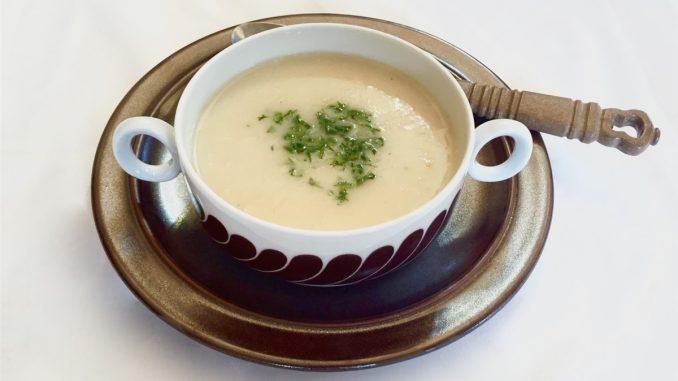 Kremalı Tavuk Suyu Çorba