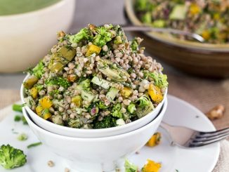 Tavuklu Karabuğday Salatası